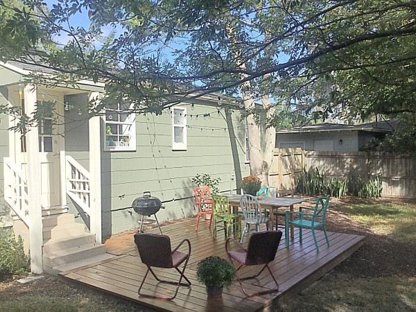 staging your deck