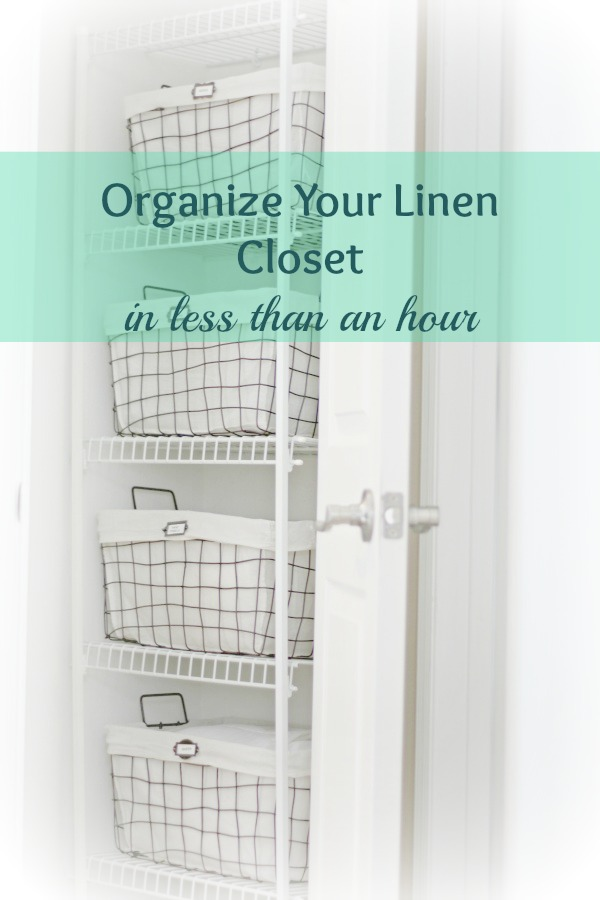 Organize Your Linen Closet Part - 47: Diane And Dean DIY